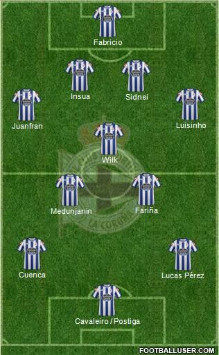 1138087_RC_Deportivo_de_La_Coruna_SAD Posible alineación del Deportivo - Jornada 10 - Comunio-Biwenger