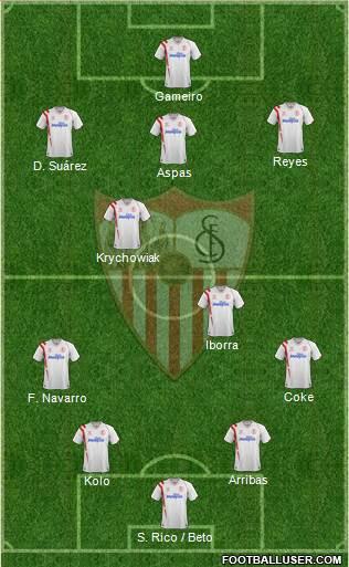 1259901_Sevilla_FC_SAD Posible alineación del Sevilla - Jornada 38 - Comunio-Biwenger