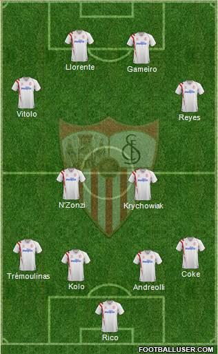1340254_Sevilla_FC_SAD Posible alineación del Sevilla - Jornada 6 - Comunio-Biwenger