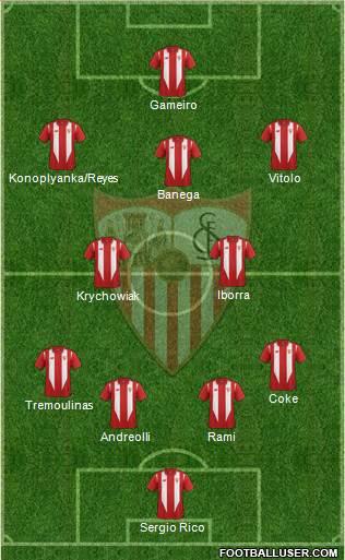 1366834_Sevilla_FC_SAD Posible alineación del Sevilla - Jornada 12 - Comunio-Biwenger