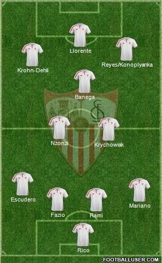 1436169_Sevilla_FC_SAD Posible alineación del Sevilla - Jornada 34 (Intersemanal) - Comunio-Biwenger