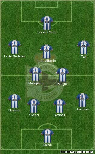 1444193_RC_Deportivo_de_La_Coruna_SAD Posible alineación del Deportivo - Jornada 38 - Comunio-Biwenger