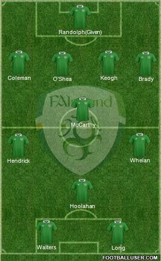 1454021_Ireland Posible alineación de Irlanda - Jornada 1 - Comunio-Biwenger