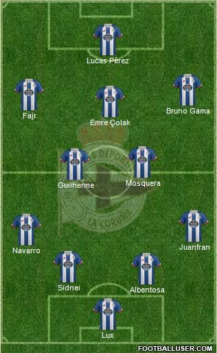 1493538_RC_Deportivo_de_La_Coruna_SAD Posible alineación del Deportivo de La Coruña - Jornada 1 - Comunio-Biwenger