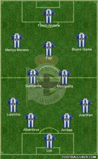 1510721_RC_Deportivo_de_La_Coruna_SAD Posible alineación del Deportivo de La Coruña - Jornada 6 - Comunio-Biwenger