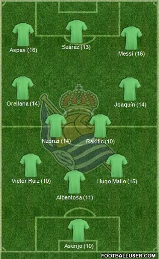 1522918_Real_Sociedad_SAD Once Ideal - Jornada 9 - Comunio-Biwenger