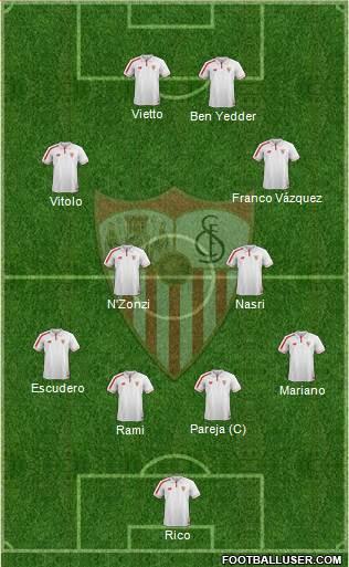1524514_Sevilla_FC_SAD Posible alineación del Sevilla - Jornada 10 - Comunio-Biwenger