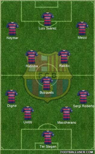 1525979_FC_Barcelona Posible alineación del Barcelona - Jornada 11 - Comunio-Biwenger
