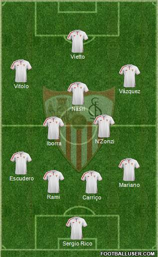 1526776_Sevilla_FC_SAD Posible alineación del Sevilla - Jornada 11 - Comunio-Biwenger