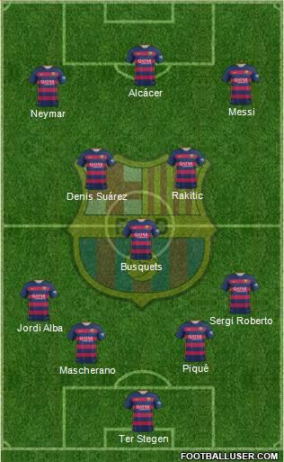 1529194_FC_Barcelona Posible alineación del Barcelona - Jornada 12 - Comunio-Biwenger