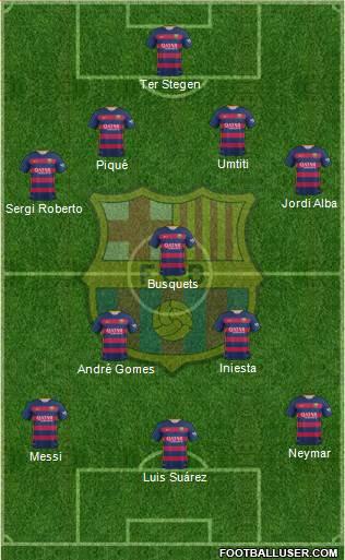 1539060_FC_Barcelona Posible alineación del Barcelona - Jornada 16 - Comunio-Biwenger