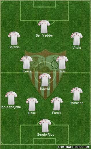 1539951_Sevilla_FC_SAD Posible alineación del Sevilla - Jornada 16 - Comunio-Biwenger