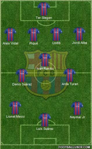 1552538_FC_Barcelona Posible alineación del Barcelona - Jornada 21 - Comunio-Biwenger