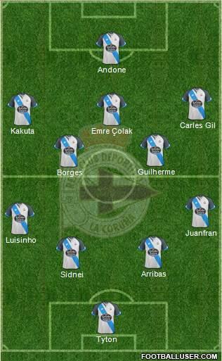 1557162_RC_Deportivo_de_La_Coruna_SAD Posible alineación del Deportivo - Jornada 23 - Comunio-Biwenger