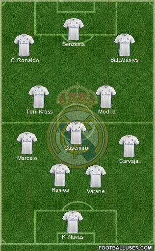 1561596_Real_Madrid_CF Posible alineación del Real Madrid - Jornada 16 (Aplazada) - Comunio-Biwenger