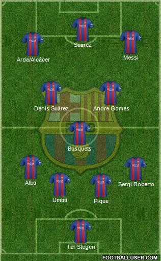 1578772_FC_Barcelona Posible alineación del Barcelona - Jornada 32 - Comunio-Biwenger