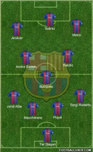 1582825_FC_Barcelona Posible alineación del Barcelona - Jornada 34 (Intersemanal) - Comunio-Biwenger