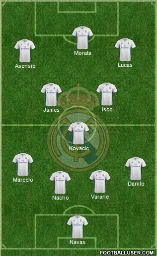 1583032_Real_Madrid_CF Posible alineación del Real Madrid - Jornada 34 (Intersemanal) - Comunio-Biwenger