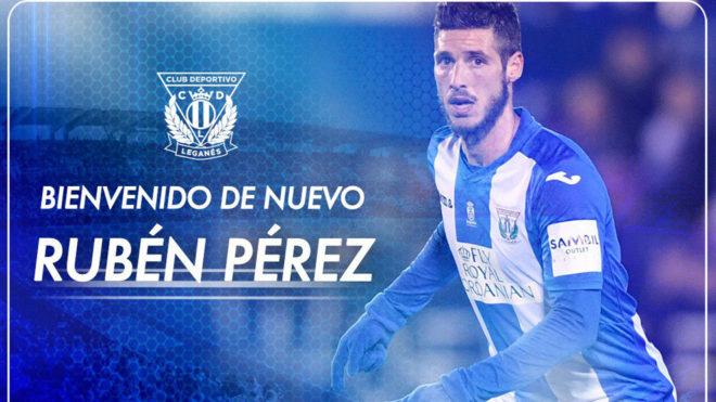 14987506373134-1 Rubén Pérez seguirá una temporada más en el Leganés - Comunio-Biwenger