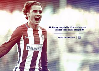 GriezmannRenovacioCC81nAtleCC81tico-1 Griezmann seguirá en el Atlético. - Comunio-Biwenger