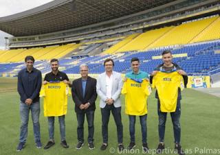 LasPalmasPrimerEquipo-1 Tres jugadores de la cantera de Las Palmas pasan al primer equipo. - Comunio-Biwenger