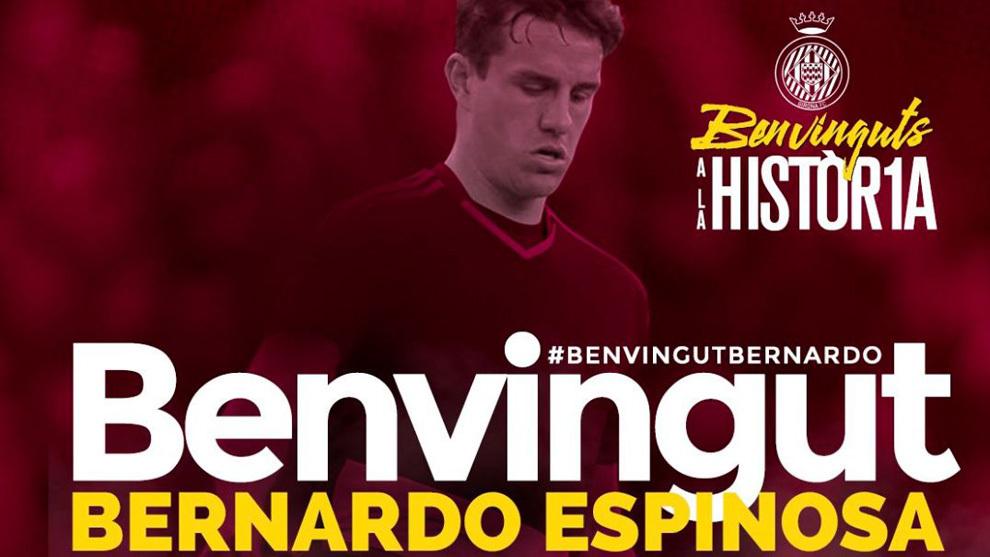 14994532276640-1 Bernardo Espinosa nuevo jugador del Girona - Comunio-Biwenger