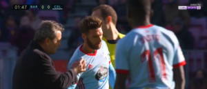 Captura-de-pantalla-2017-12-02-a-las-13.50.59-300x129 Sergi Gómez se retiró lesionado - Comunio-Biwenger