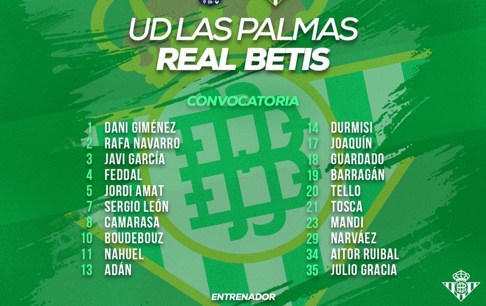 Convcatoria_Las_Palmas-Betis.jpg.950x600_q85_crop-center Feddal y el canterano Julio Gracia, principales novedades en la lista del Betis - Comunio-Biwenger