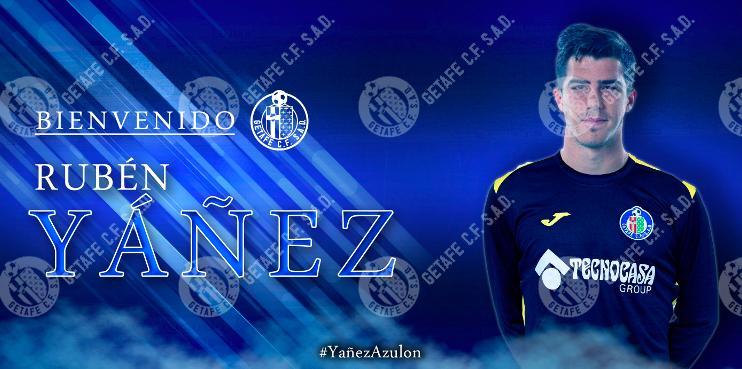 Ruben-Yañez-Fichaje-GetafeCF Rubén Yáñez, nuevo jugador del Getafe - Comunio-Biwenger