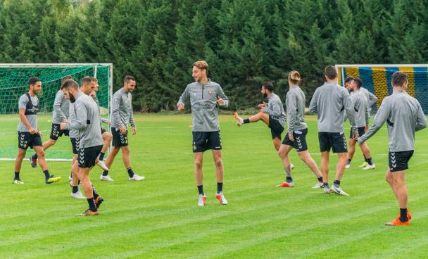 Entrenamiento-Real-Valladolid-Octubre Joaquín y Verde se reincorporan paulatinamente al grupo - Comunio-Biwenger