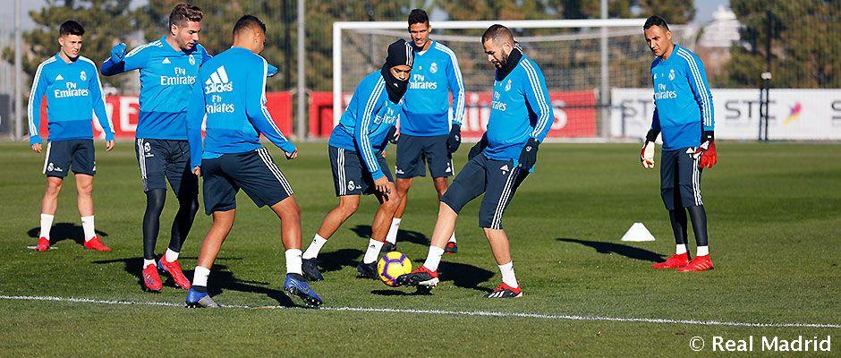 real-madrid-entrenamiento-12 Vinicius no se entrena con el grupo - Comunio-Biwenger