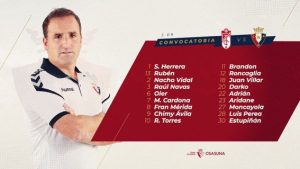 5871962D-2253-4ED5-B1DE-48F924A23153-300x169 Rubén García fuera de la convocatoria para jugar en Granada - Comunio-Biwenger